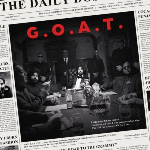 Download Pyaar Diljit Dosanjh mp3 song, G.O.A.T. Diljit Dosanjh full album download