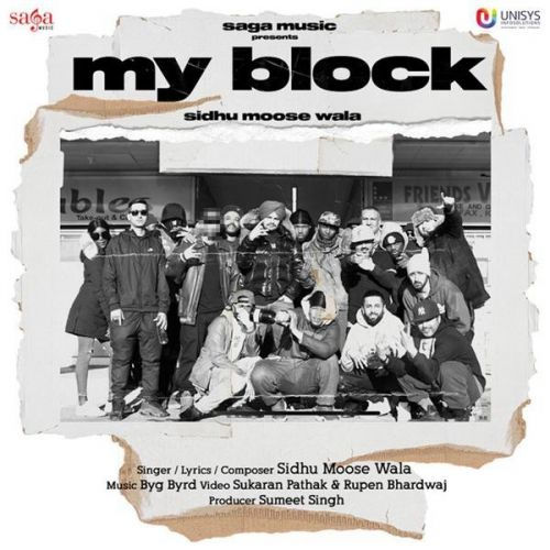 Download My Block Sidhu Moose Wala mp3 song, My Block Sidhu Moose Wala full album download