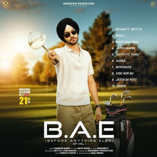 B.A.E By Harman Mann, Pura Bakshi and others... full mp3 album